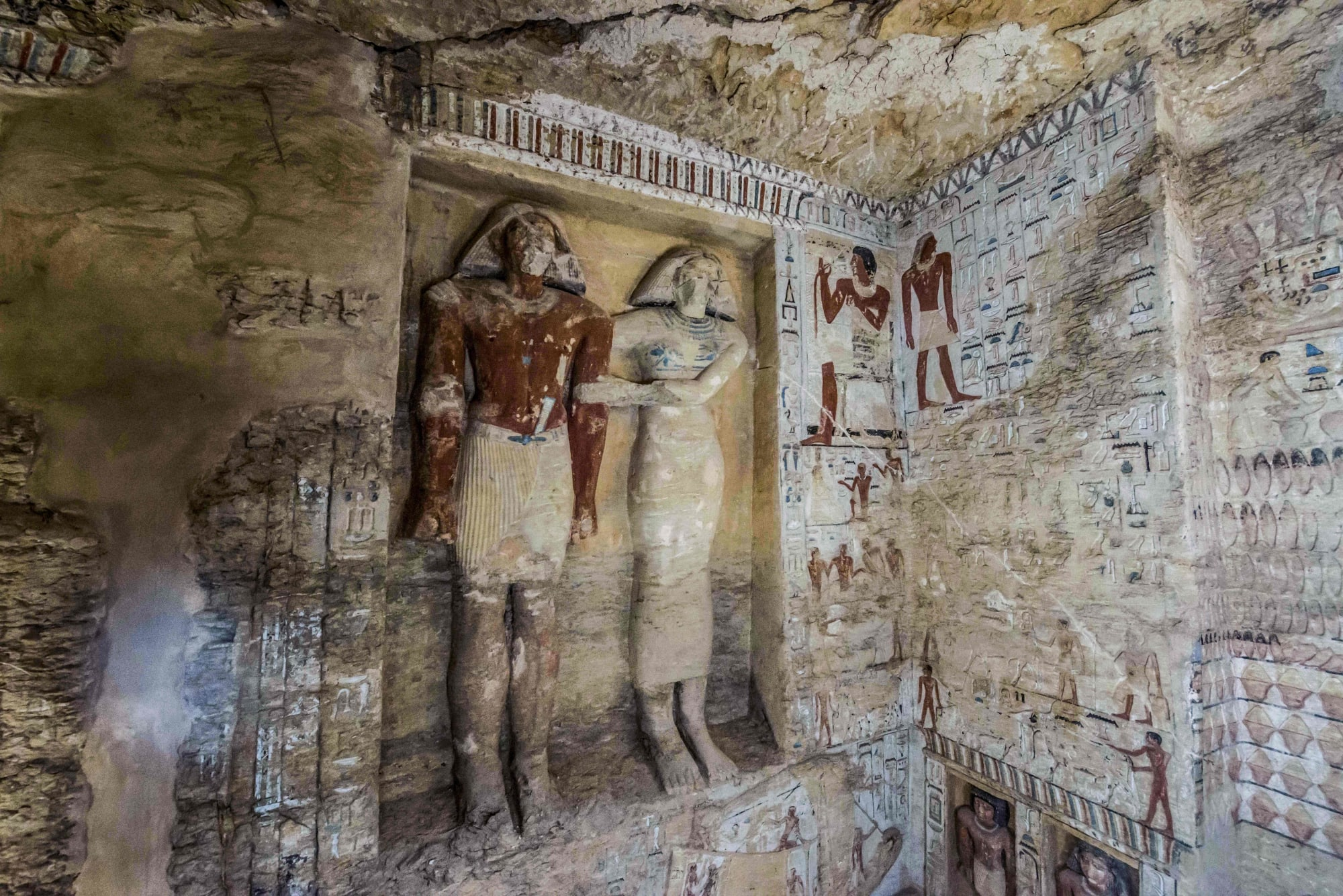 This image has an empty alt attribute; its file name is 4400-year-old-tomb-ancient-egypt-gettyimages-1073591406.jpg