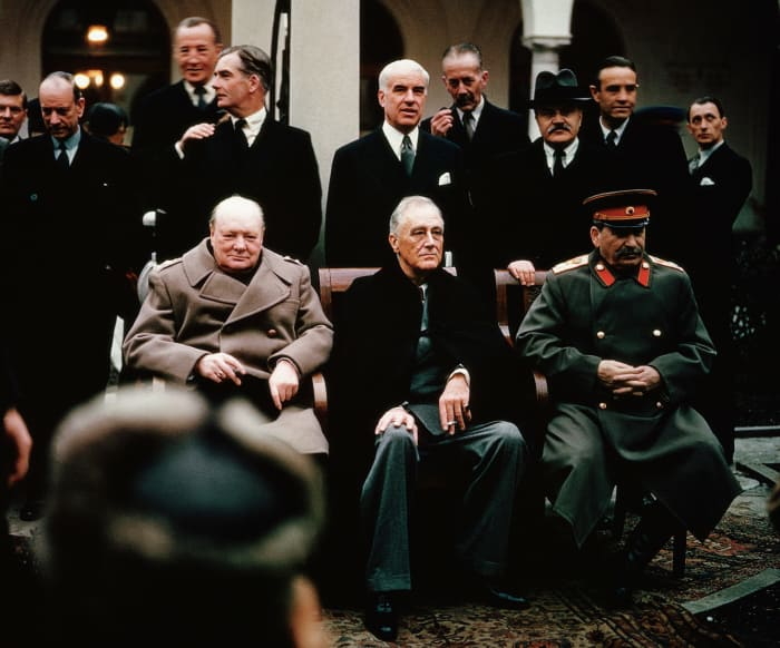 Yalta Conference ends