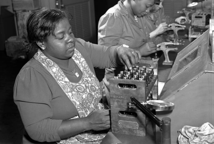 How Black Women Contributed on the WWII Homefront