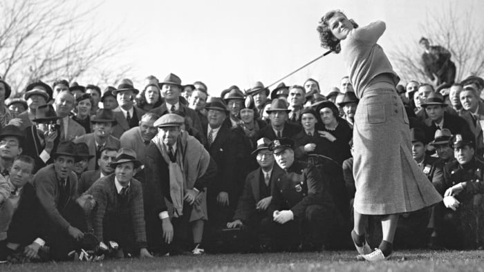 Babe Didrikson Zaharias, one of the greatest athletes of all time, could wow crowds on a golf course as well as other sporting venues.