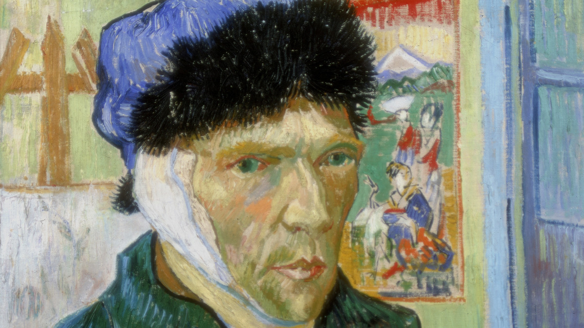 Why did Van Gogh cut off his ear