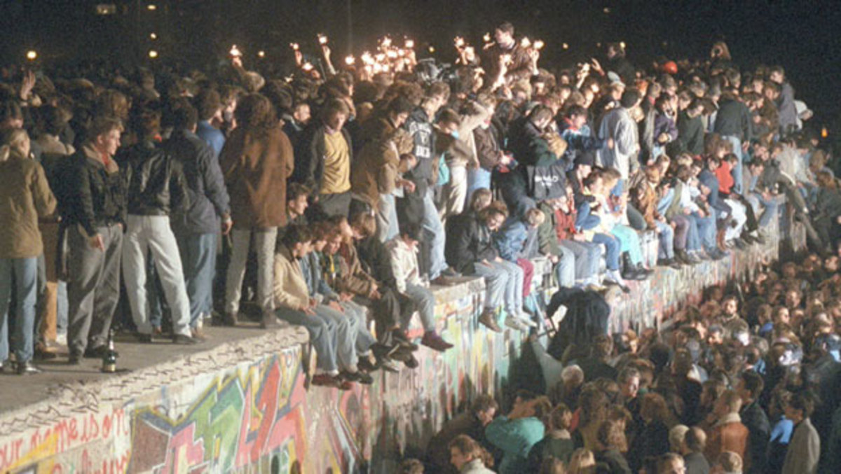 Image result for berlin wall falls