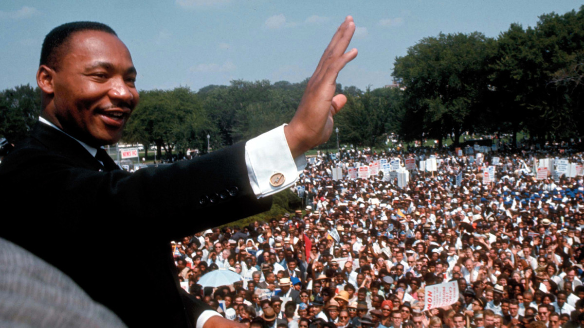 Look - Luther Martin king in color pictures video