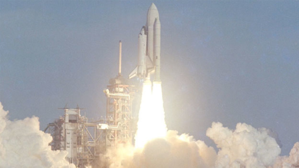 space shuttle first launch - photo #5