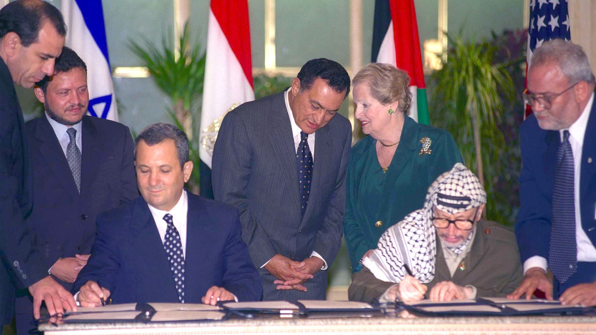 Israel Egyptian Peace Agreement Signed History