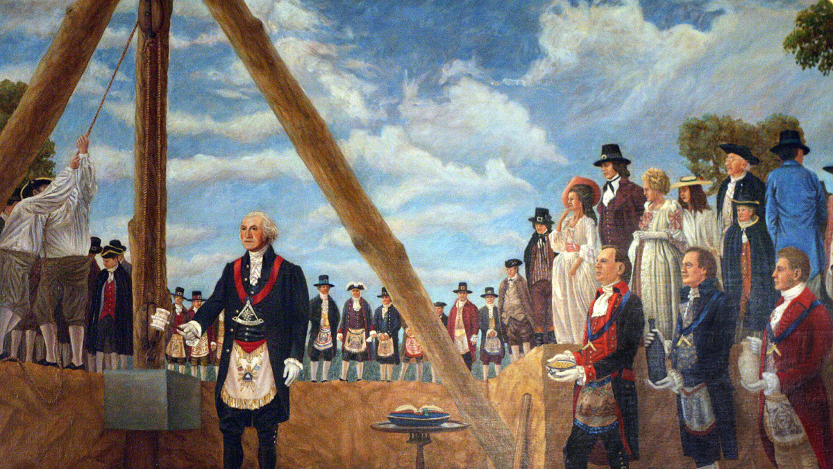 This Day In History: 09/18/1793- Capitol Cornerstone is Laid