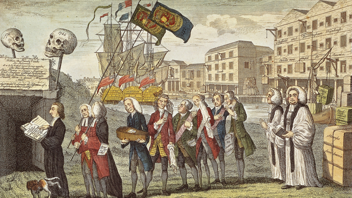 Stamp Act Imposed On American Colonies