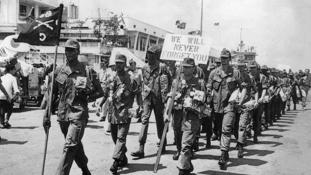 Us Withdraws From Vietnam History