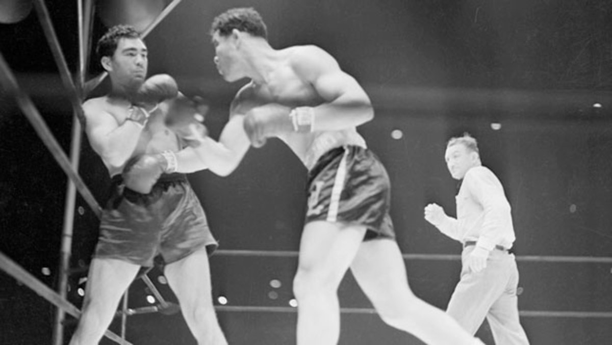 Two years after Max Schmeling's knockout of the undefeated Joe Louis in a non-title bout, they met again on June 22, 1938, for a dramatic rematch at Yankee Stadium. Louis TKO'd the German in two minutes and four seconds.