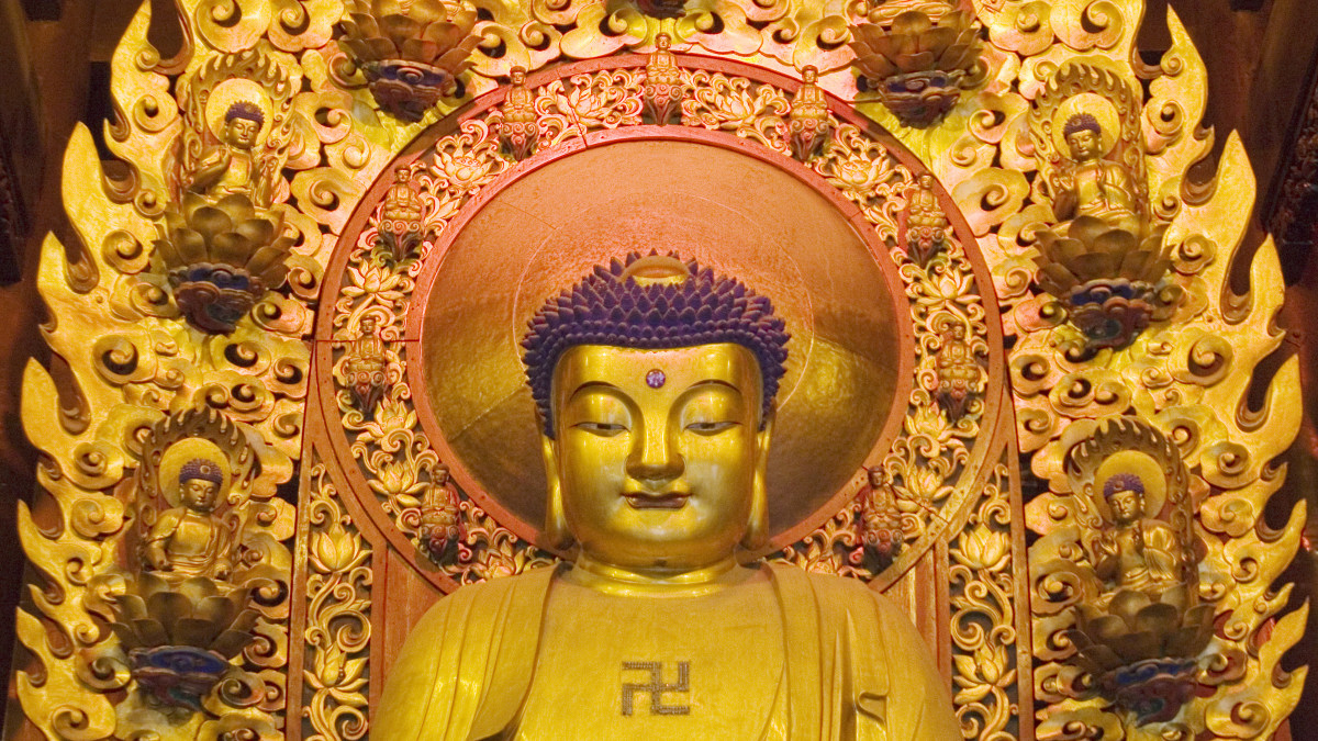 Swastika in Buddhism