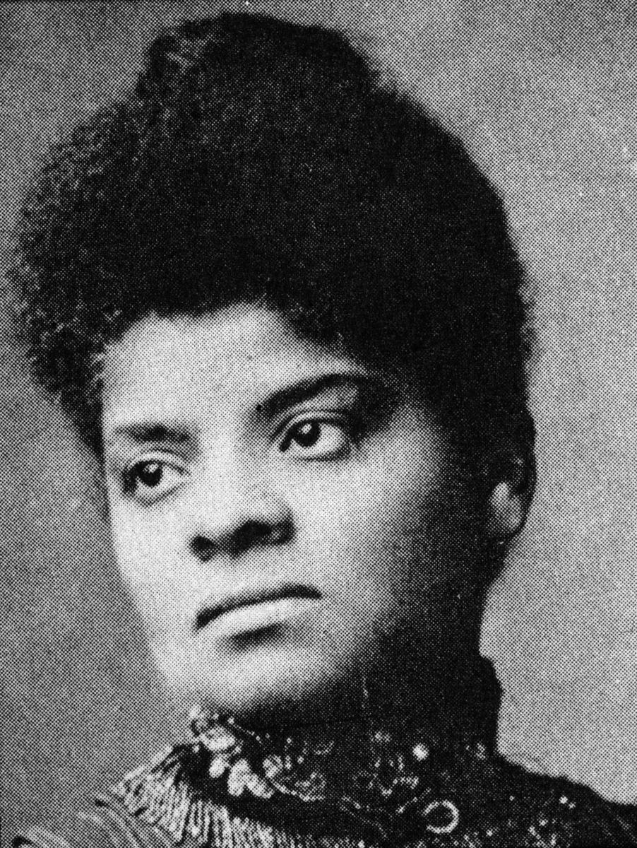 Portrait of American journalist, suffragist and progressive activist Ida B. Wells, circa 1890. (Credit: R. Gates/Hulton Archive/Getty Images)