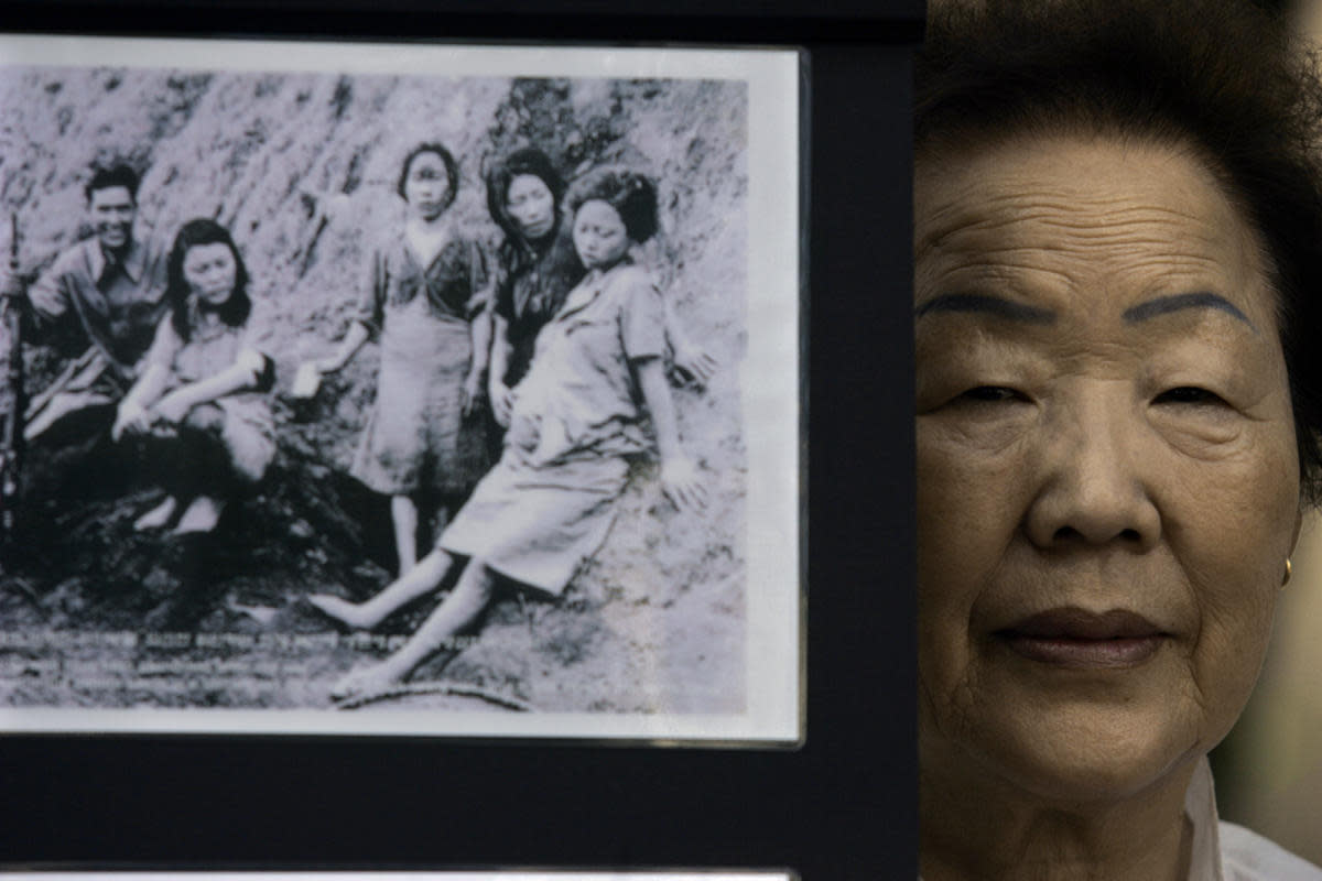Former comfort woman Yong Soo Lee