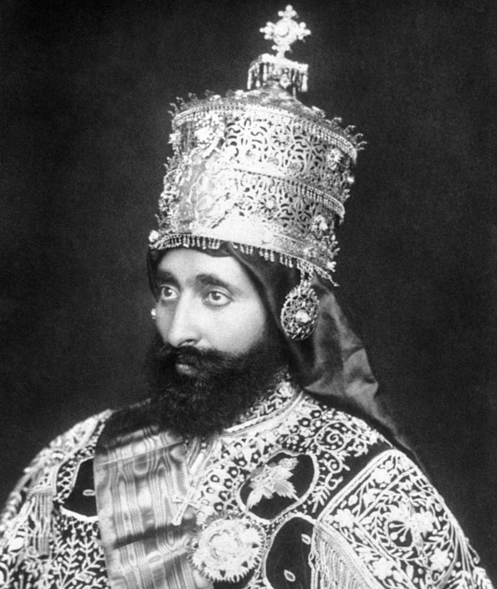 Emperor Ras Tafari. (Credit: Bettmann Archive/Getty Images)