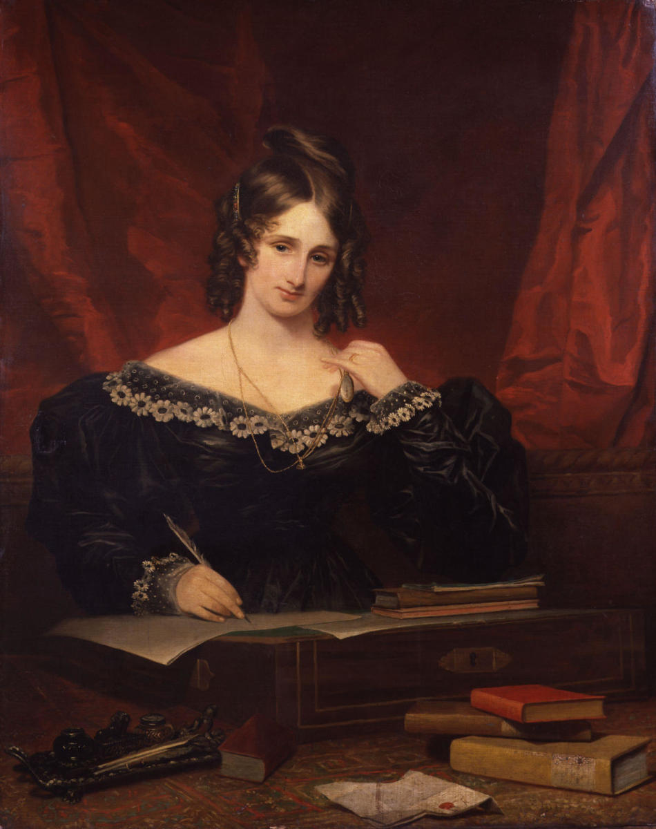Mary Shelley, 1831. (Credit: Fine Art Images/Heritage Images/Getty Images)