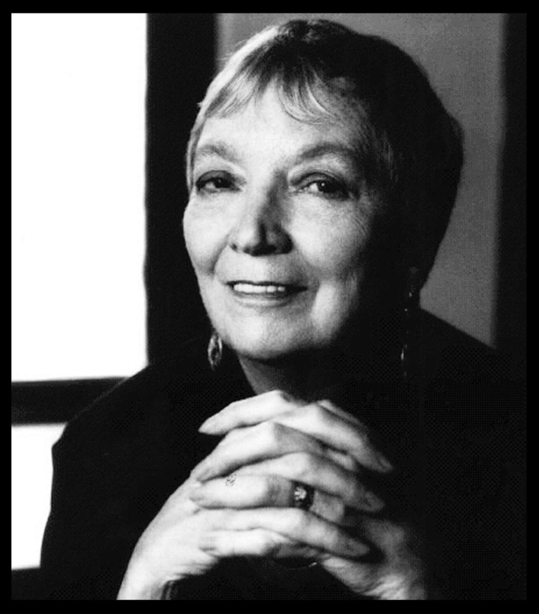 Author Madeleine L'Engle, circa 2000. (Credit: Everett)