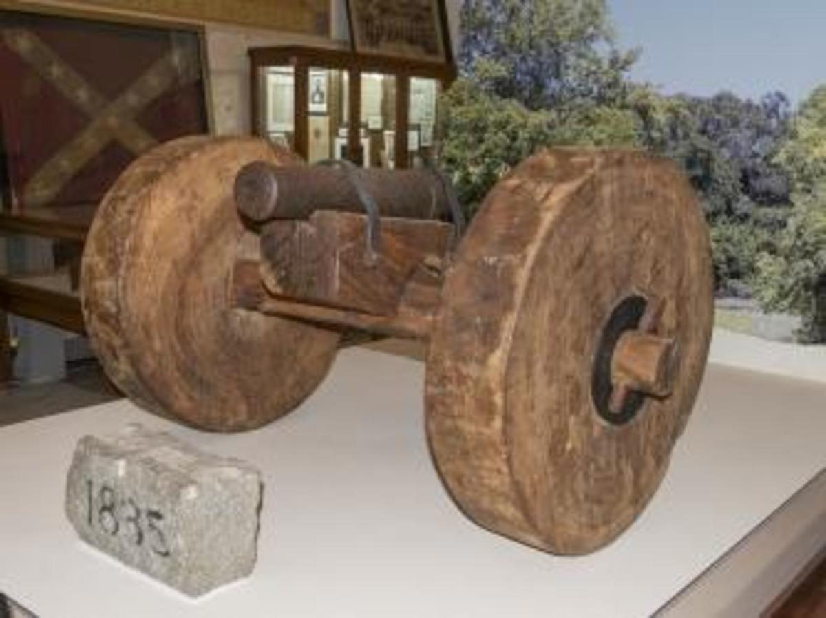"""""""Come and Take It"""" cannon at the Gonzales Memorial Museum in Texas."""
