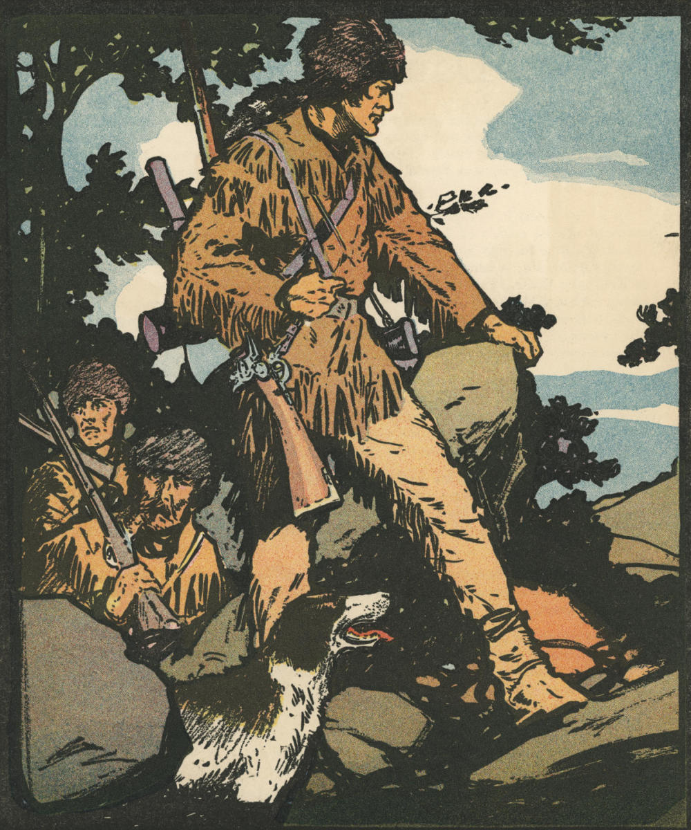 American explorer and frontiersman Daniel Boone. (Credit: GraphicaArtis/Getty Images)