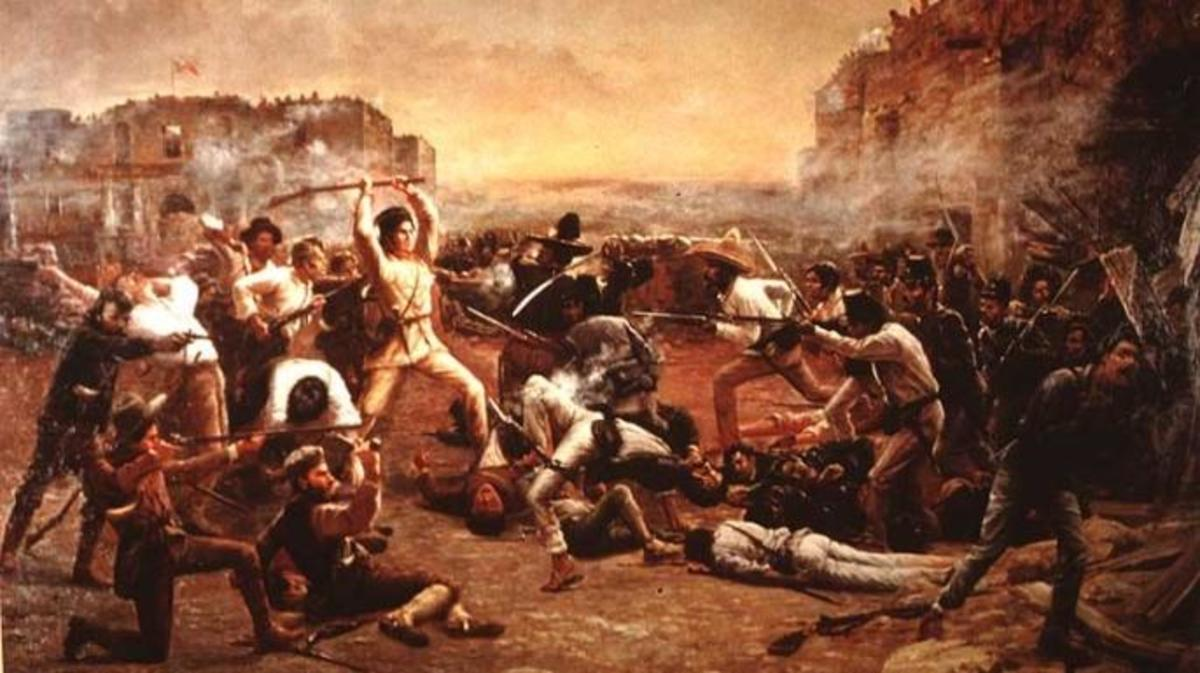 """The Fall of the Alamo"""