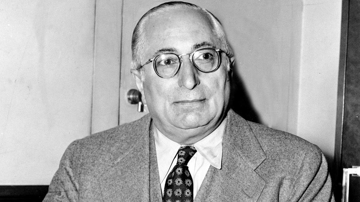 Louis B. Mayer, head of Metro-Goldwyn-Mayer Studios. (Credit: NY Daily News Archive via Getty Images)