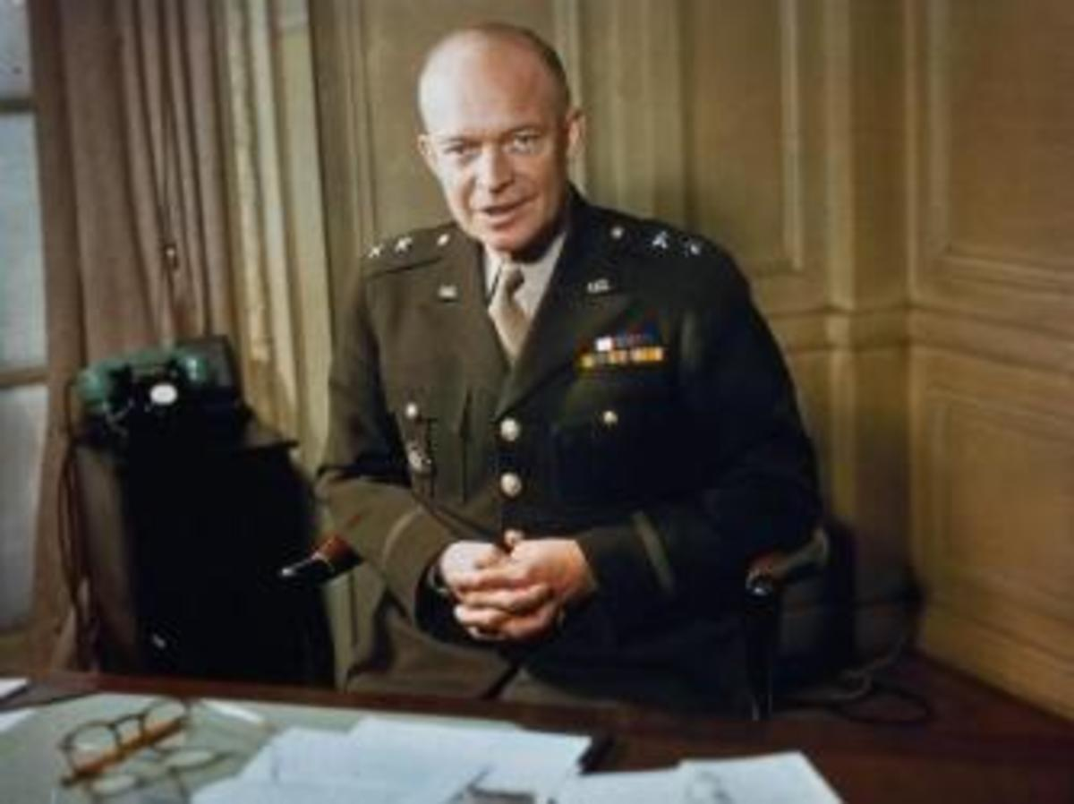 Eisenhower during World War II. (Credit: Imperial War Museum)