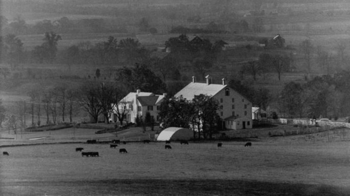 Pres. Dwight D. Eisenhower's farm.  (Credit: George Skadding/The LIFE Picture Collection/Getty Images)