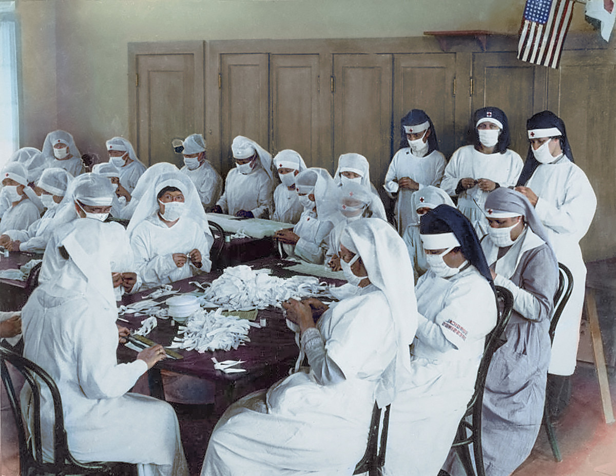 Three Percent of the World\'s Population Died in the 1918 Flu ...