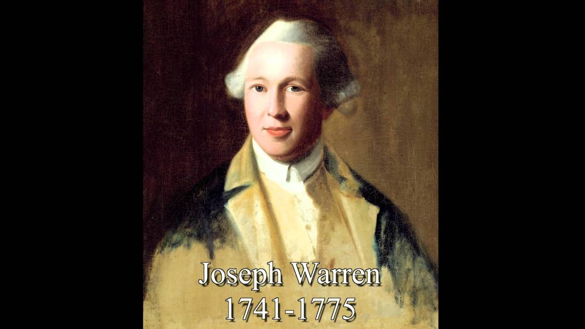10 Things You Should Know About Joseph Warren - HISTORY