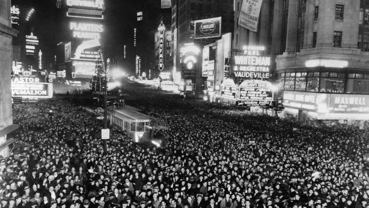 How Times Square Became The Home Of New Year S Eve History