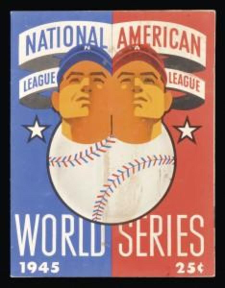 1945 World Series Program. (Credit: Iconic Archive/Getty Images)