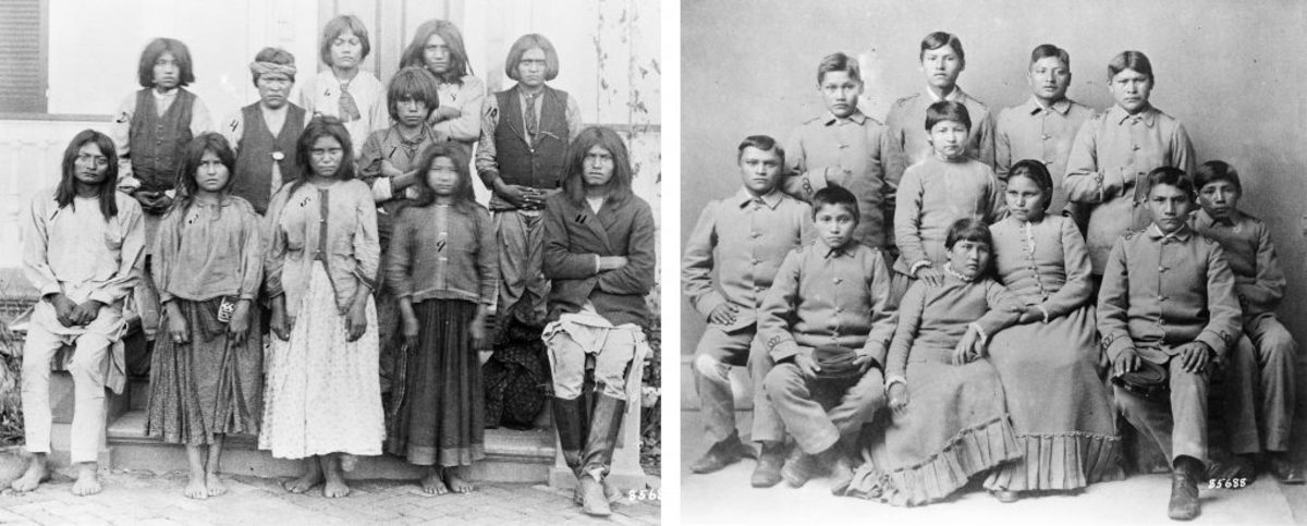 Carlisle School Native American Assimilation