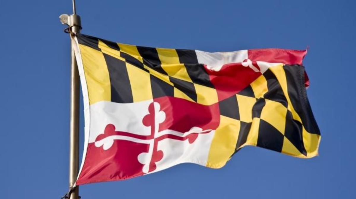 Maryland State Flag. (Credit: WilliamSherman/Getty Images)