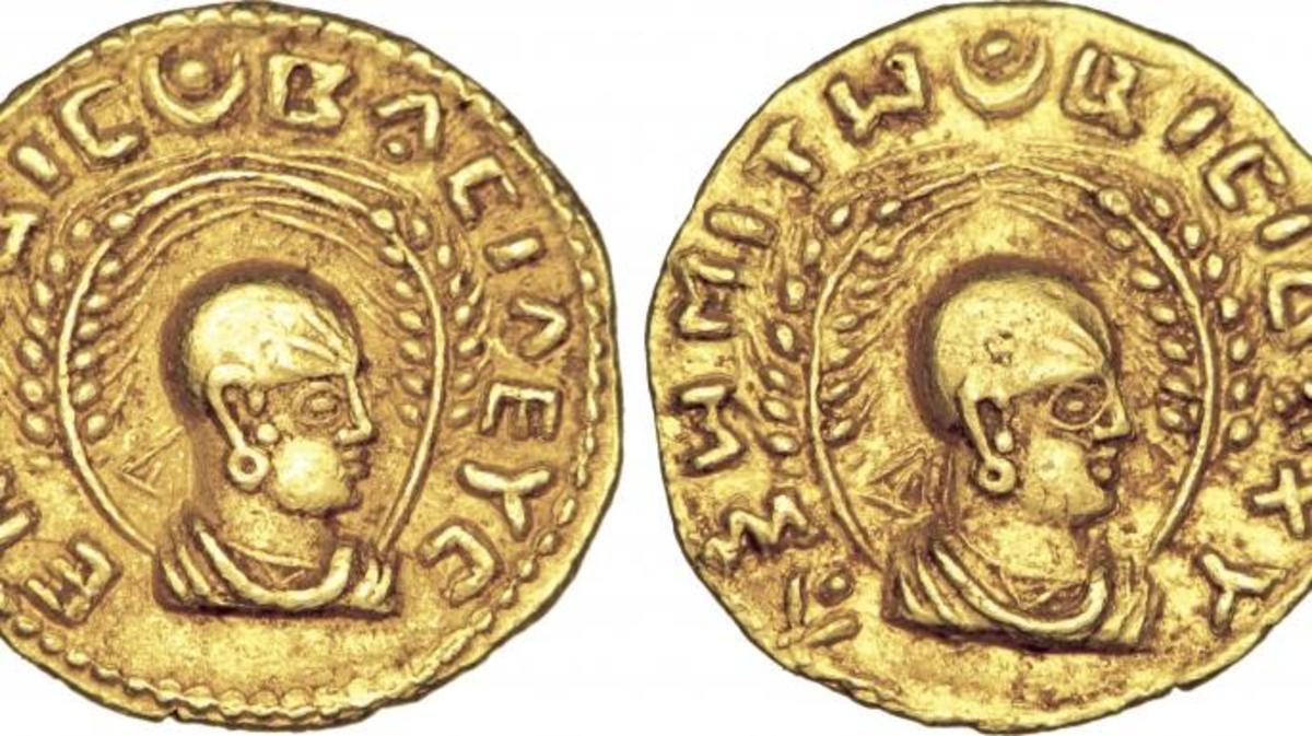 Coins from Aksum. (Credit: http://cgb.fr /)