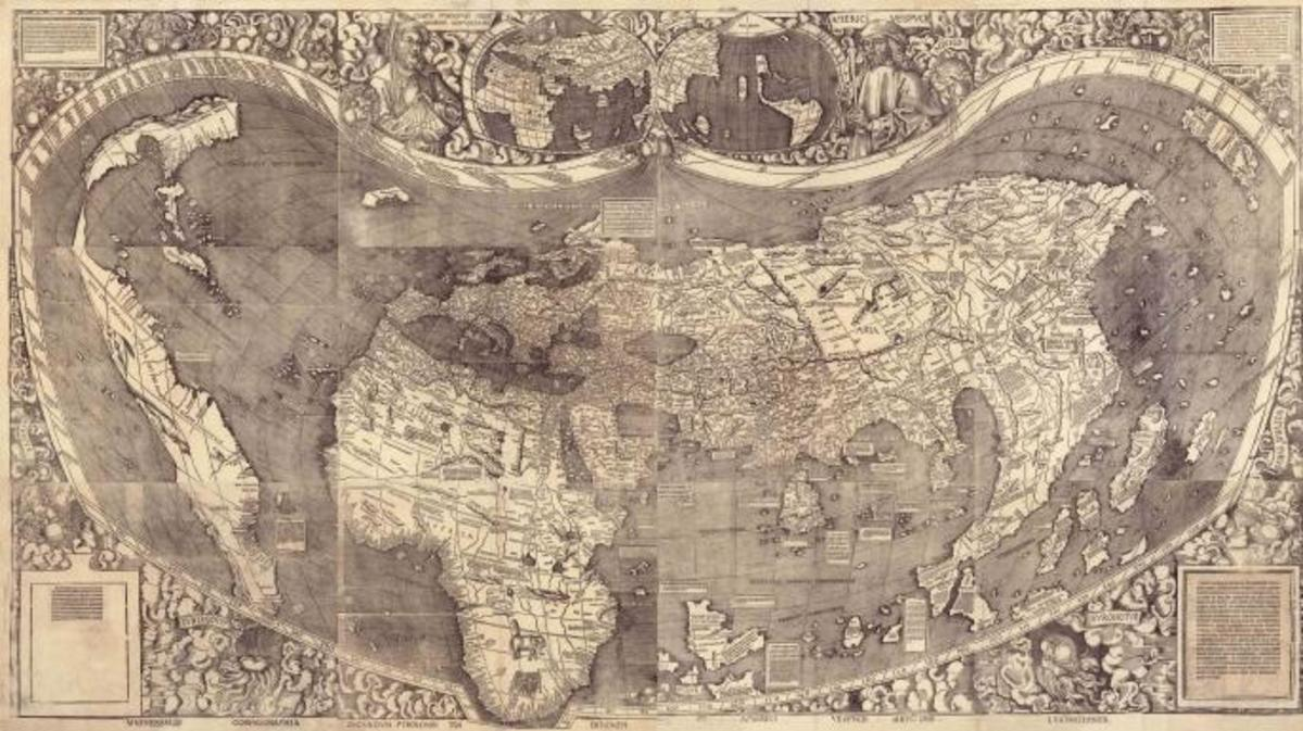8 Remarkable Early Maps - HISTORY