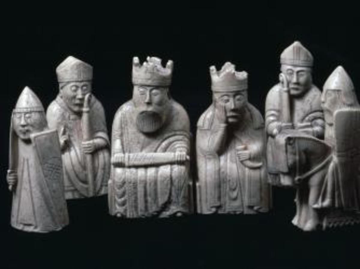 lewis chessmen, scotland, vikings
