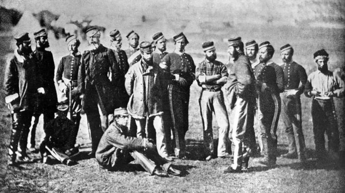 5th Dragoon Regiment of the British army, photographed by Roger Fenton. (Credit: ullstein bild/Getty Images)