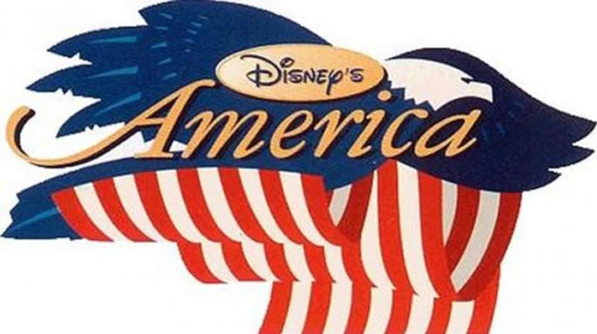 The logo for Disney's America. (Credit: The Walt Disney Company)