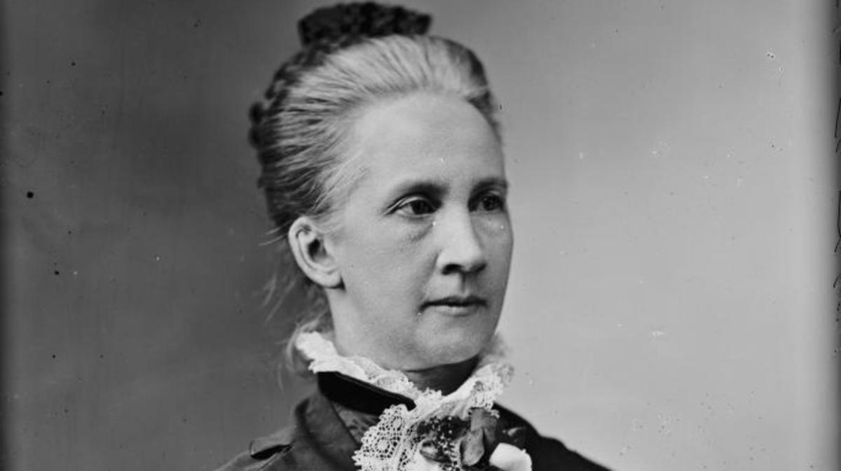 Belva Ann Lockwood. (Credit: Public Domain)
