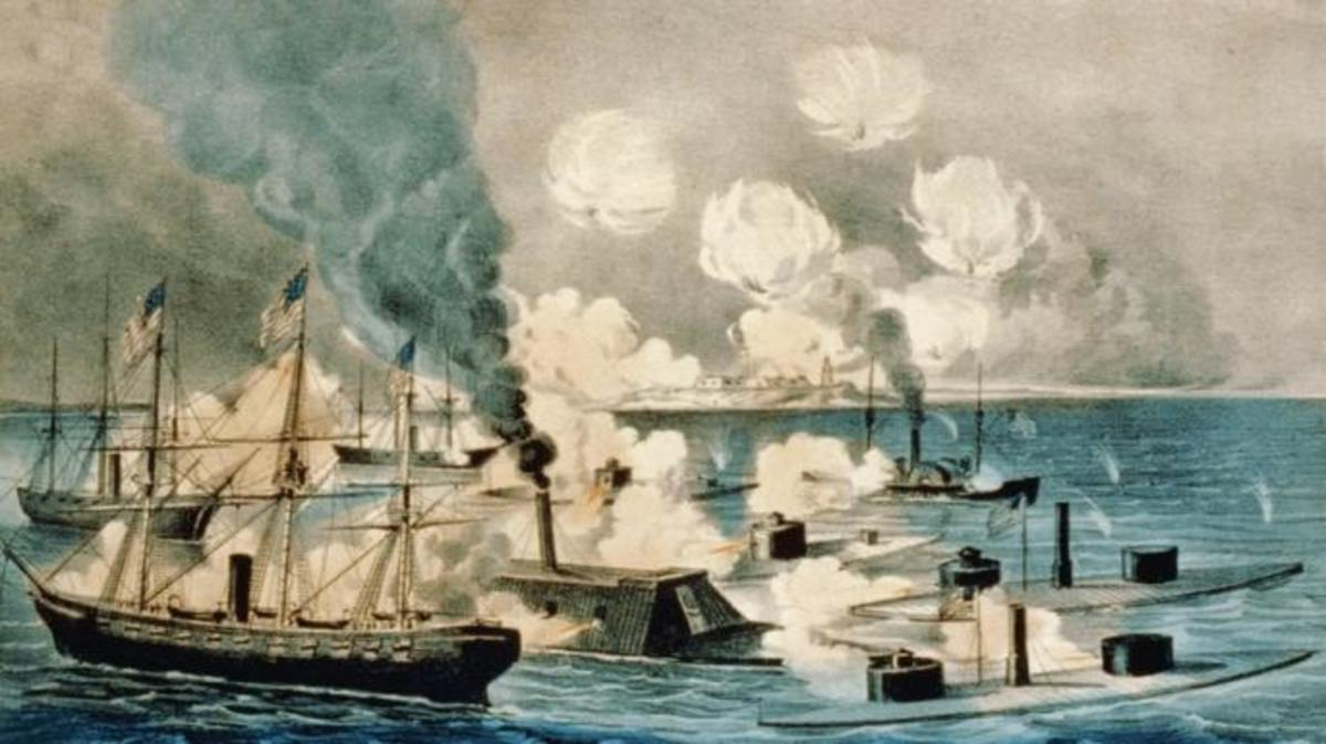 By 1864, with the Battle of Mobile Bay, the use of ironclads was commonplace.