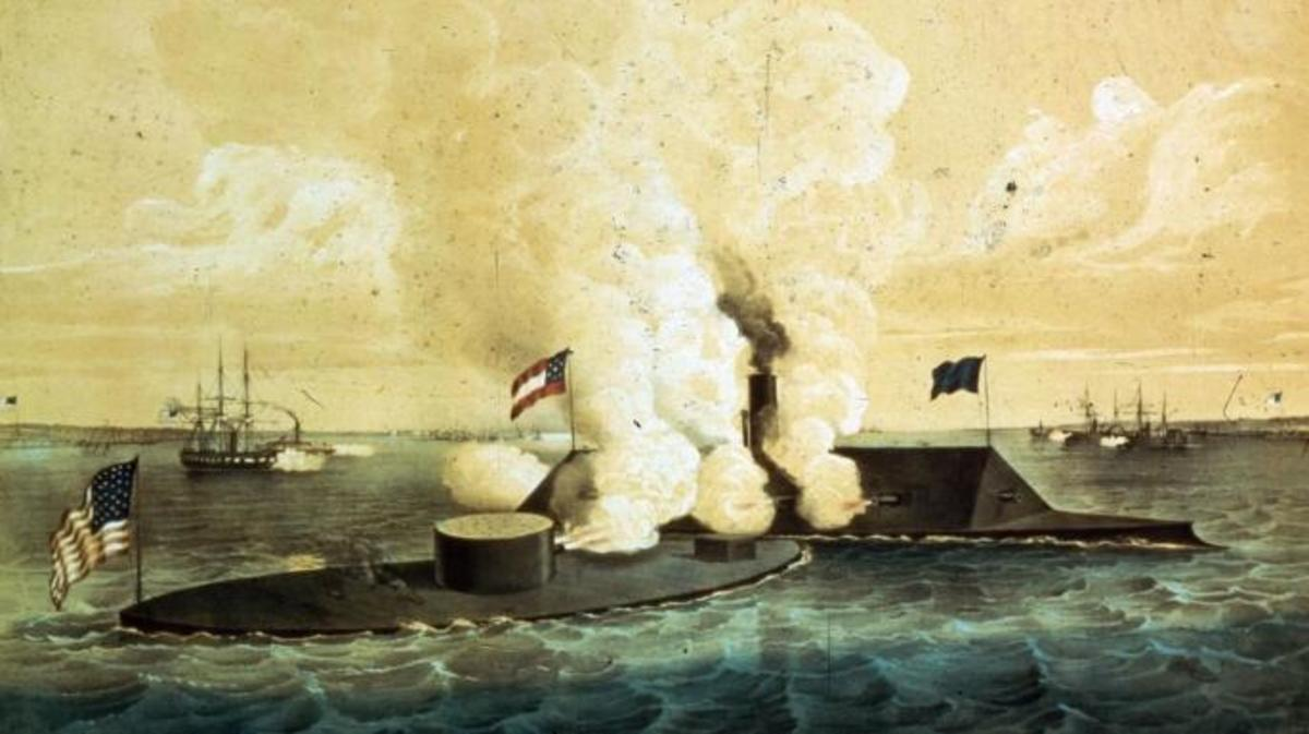 When Ironclads Clashed: How Hampton Roads Changed Naval