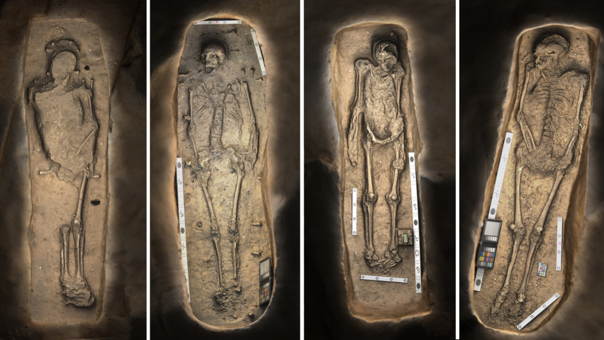 Archaeologists Excavate Graves of Jamestown's Leaders