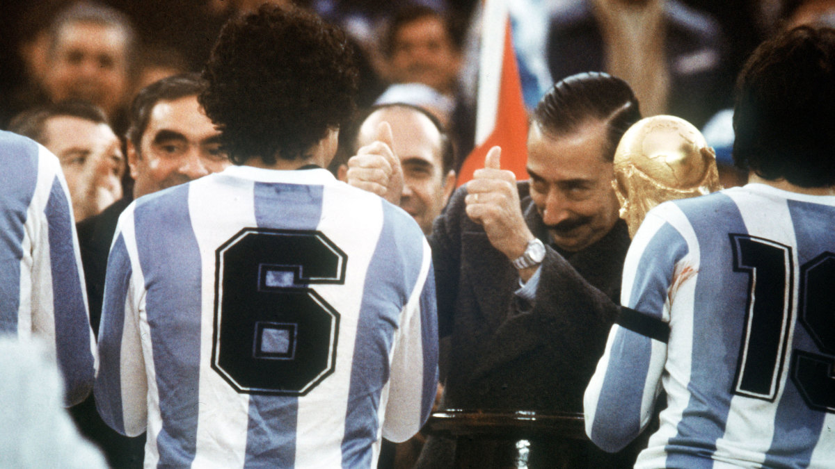 When Argentina Used World Cup Soccer to Whitewash Its Dirty War