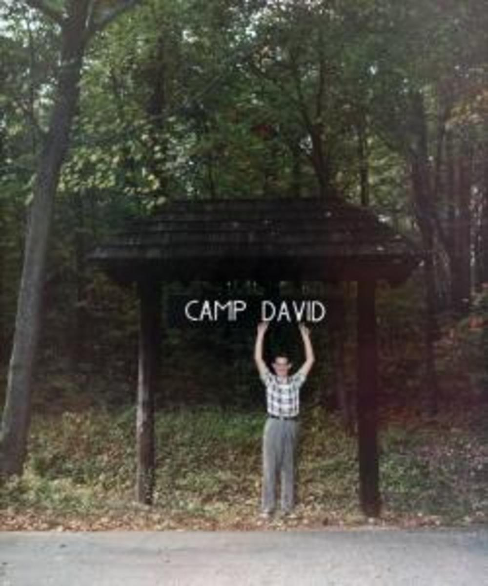 David Eisenhower at Camp David.