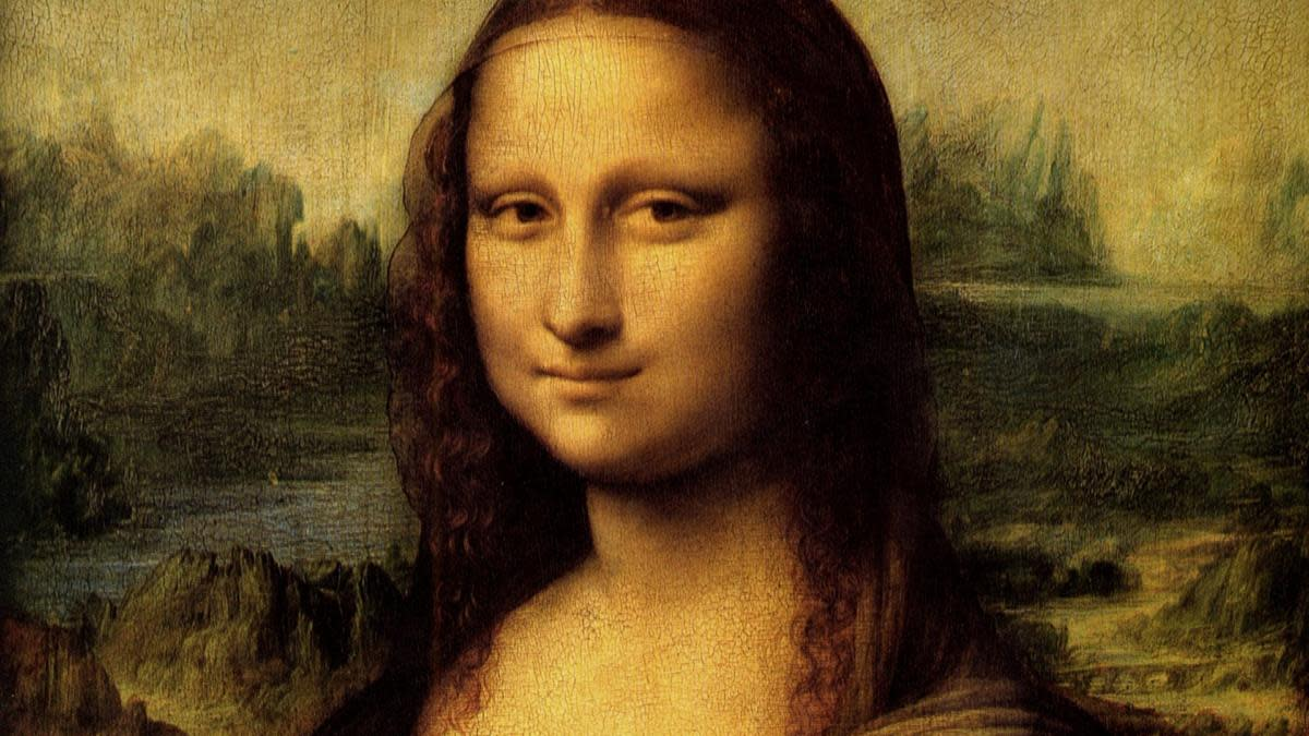 The Mona Lisa, painted portrait of Lisa Gherardini, by Leonardo da Vinci. (Credit: Universal History Archive/UIG via Getty Images)