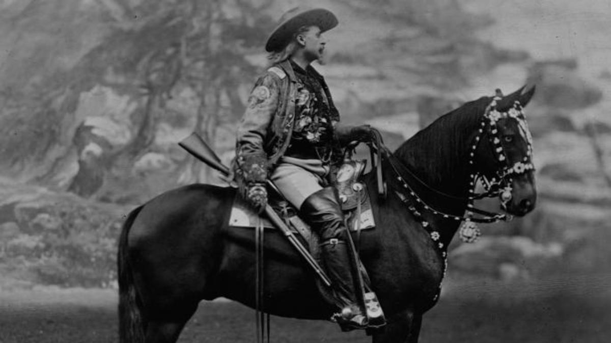 Buffalo Bill. (Credit: Library of Congress/Corbis/VCG via Getty Images)
