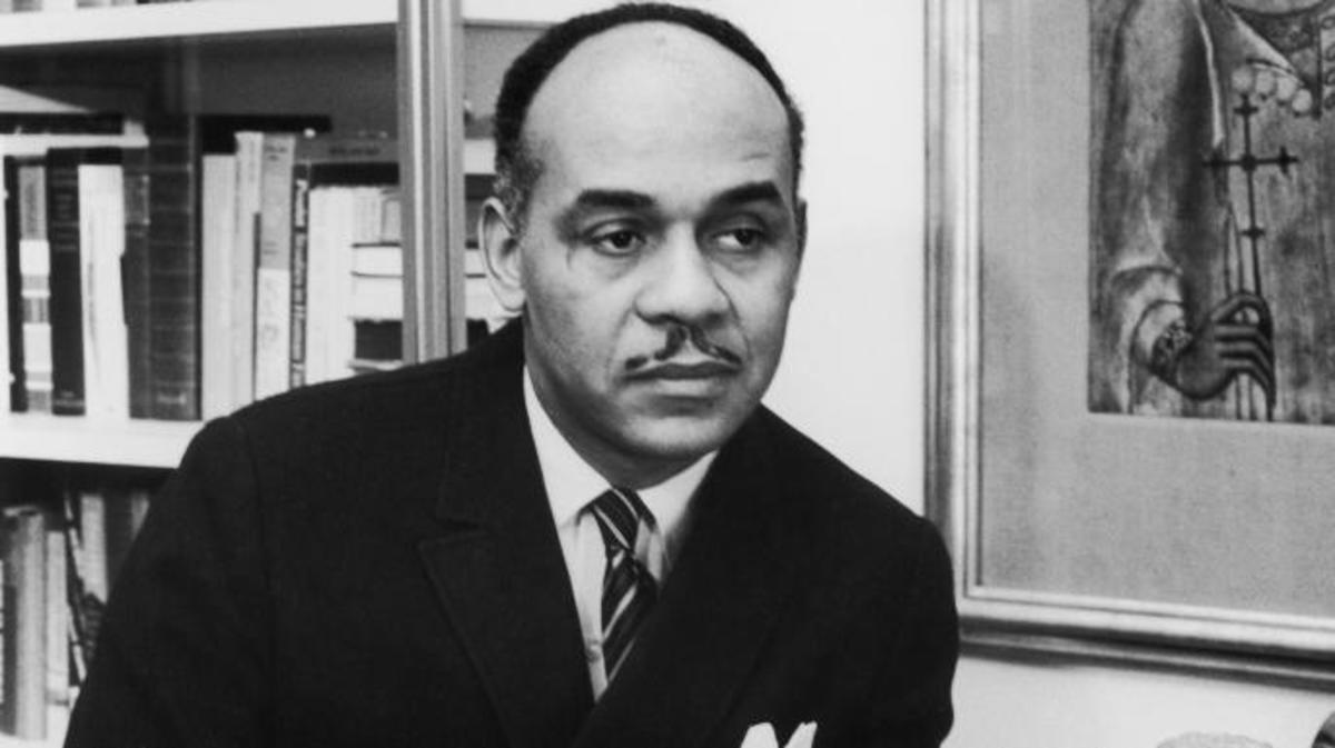 Ralph Ellison in New York, 1963.