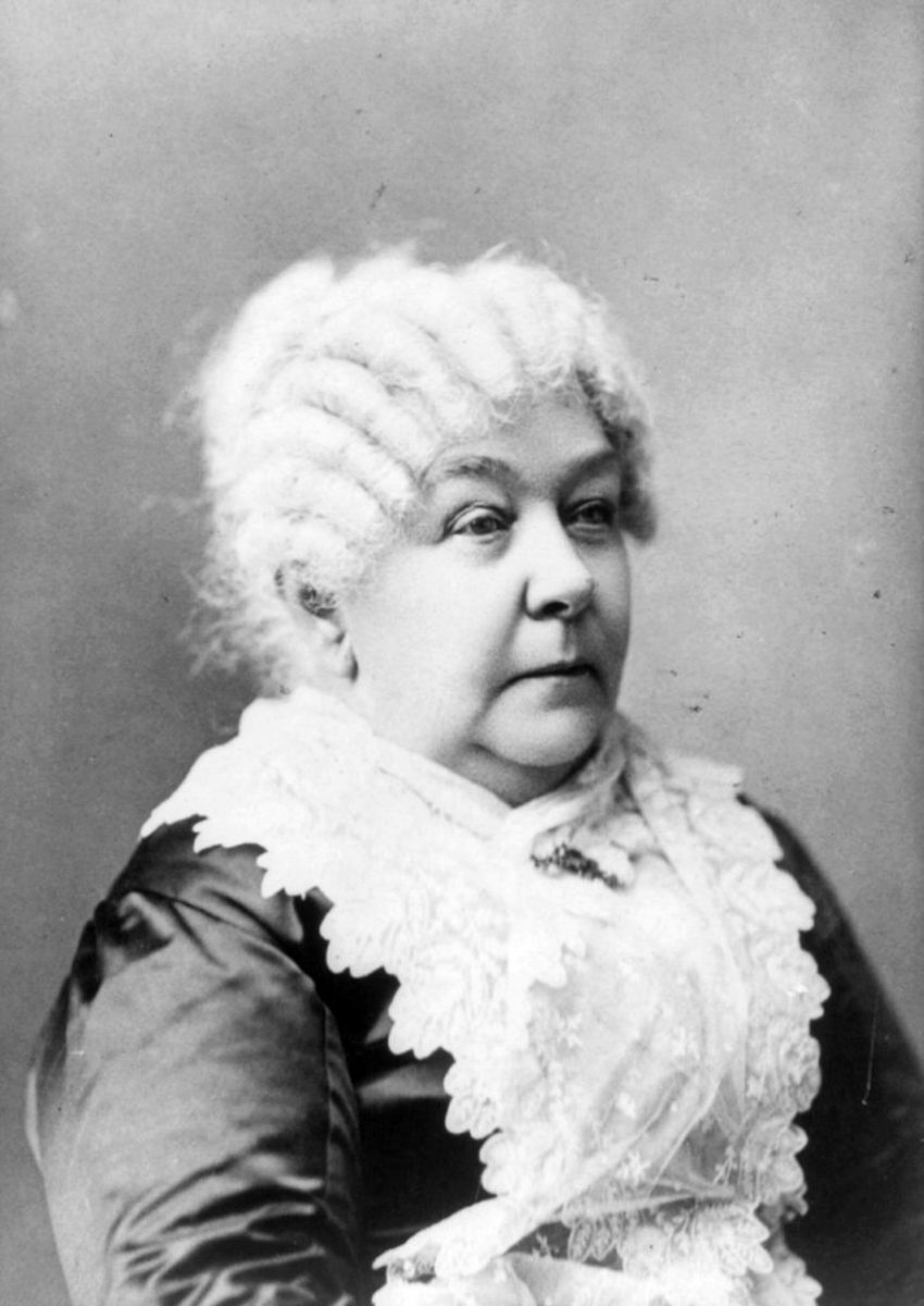 Portrait of Elizabeth Cady Stanton. (Photo by: Universal History Archive/UIG via Getty images)