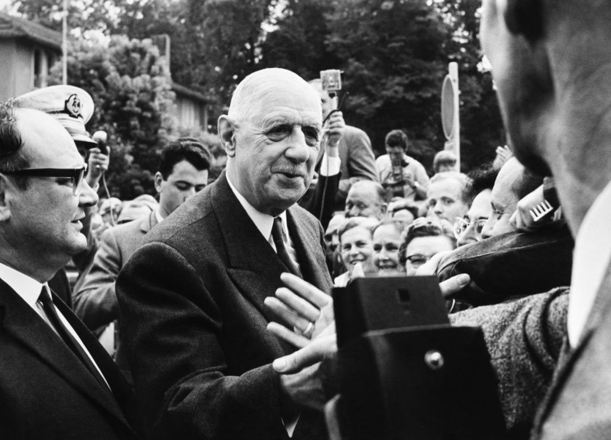 General Charles De Gaulle, in 1966. (Photo by Keystone-France/Gamma-Keystone via Getty Images)