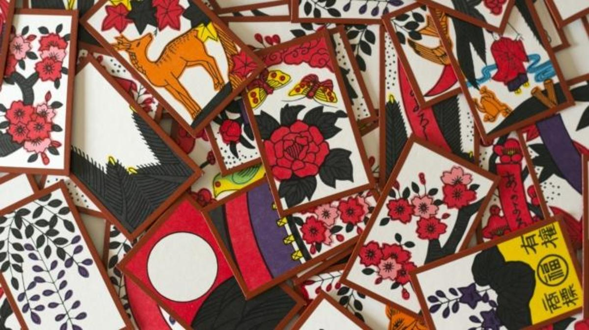 Hanafuda cards. (Credit: Japanexperterna.se/Wikimedia Commons/CC BY-SA 3.0)