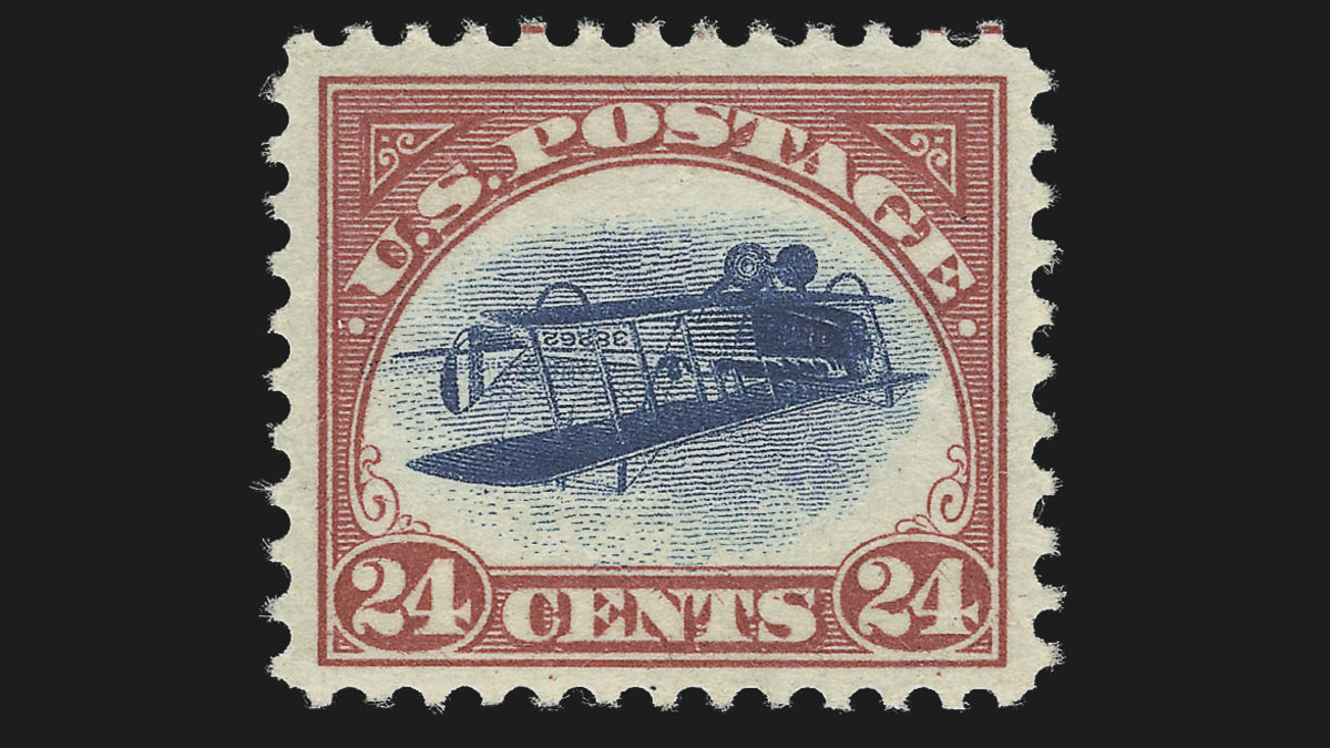 The 10 Most Valuable U S  Stamps - HISTORY