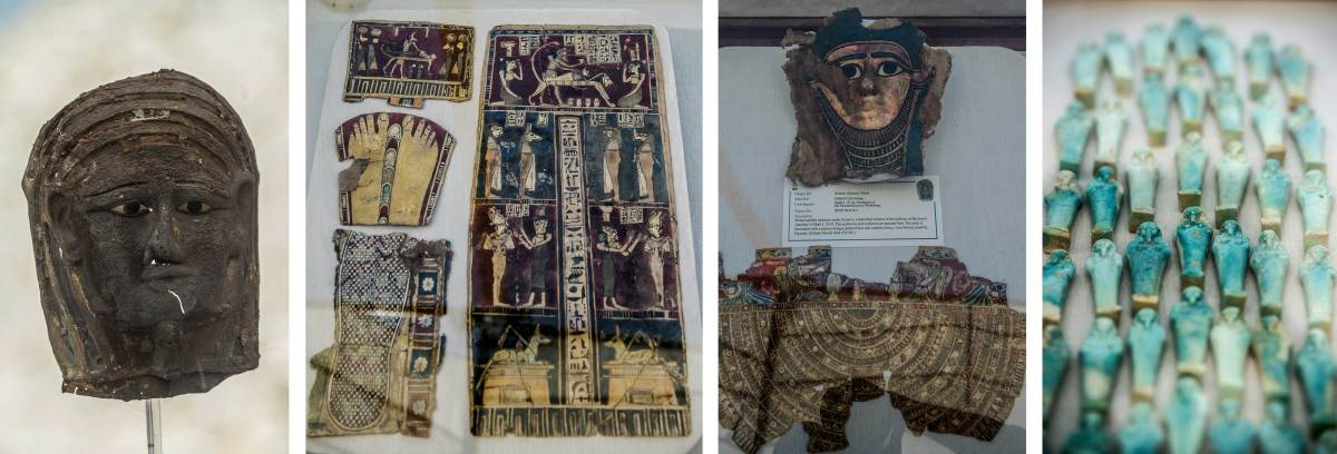 Artifacts from Mummy Workshop Discovered